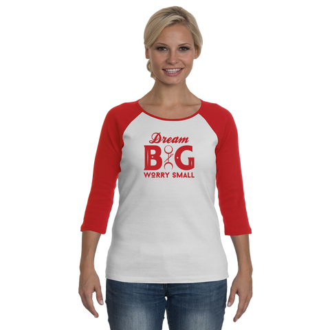 Dream Big - Red - Women - Longsleeves