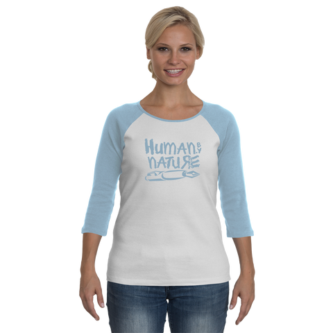 Human.By Nature - Women - Lightblue LongSleeves