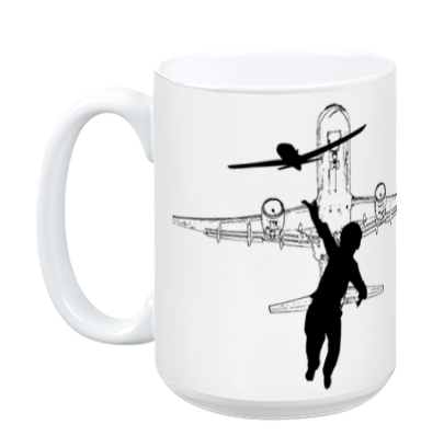 Dream BIG Worry Small - AIR MUG - BLK