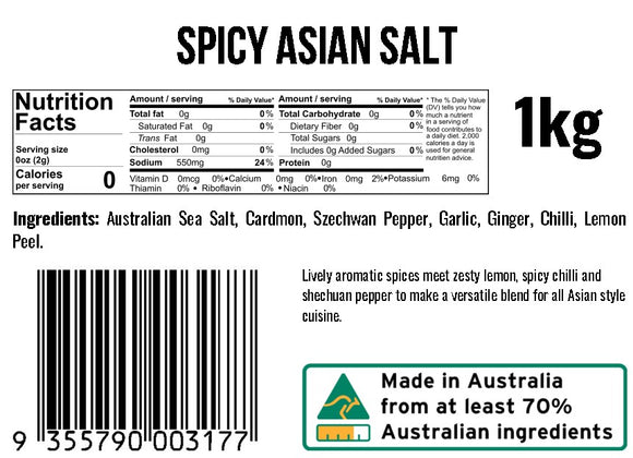 Spicy Asian Salt