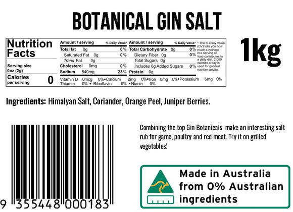 Botanical Gin Salt