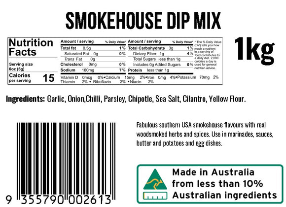 Smokehouse Dip Mix