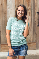 Local Tee - Dusty Blue (Small-XL)