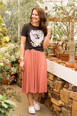 Kacey Skirt (Small-XL) - Rosy Pink