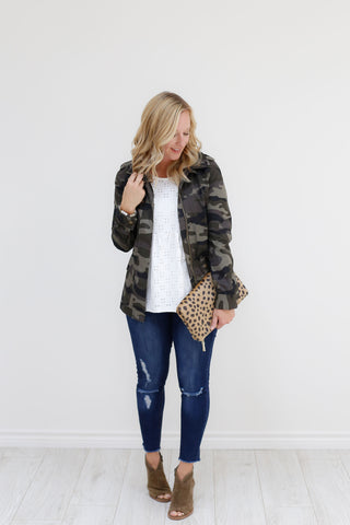 Juniper Jacket - Camo (Small-XL)