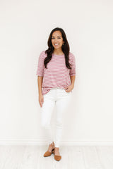 Nora Top (Small-XL) - Mauve