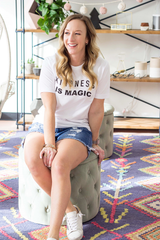 Kindness is Magic Tee - White