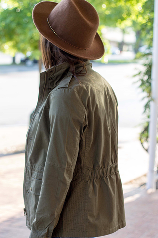 Juniper Jacket - Olive (Small-XL)