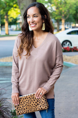 Hattie Sweater - Mocha