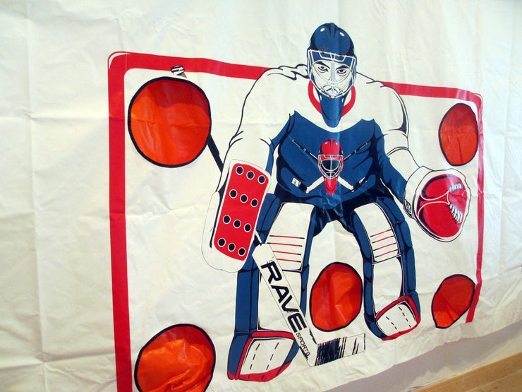 RAVE Hockey Attack Zone Shooting Tarp
