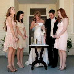 wedding ideas for blended family ceremonies unity sand choose from 90 designer colors of sparkling sand 27798