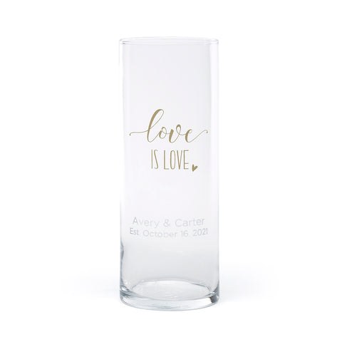 Love is Love - Large Cylinder Personalized