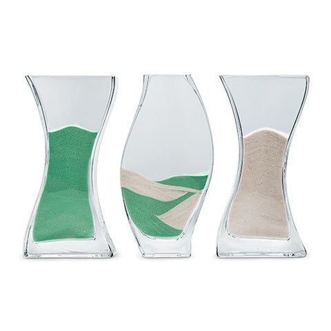 3-Piece Large Nesting Unity Sand Ceremony Vase Set