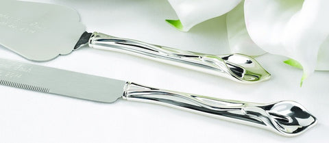 Calla Lily Serving Set