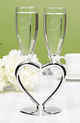 Interlocking Heart Flutes