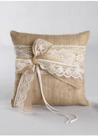Country Romance Ring Pillow