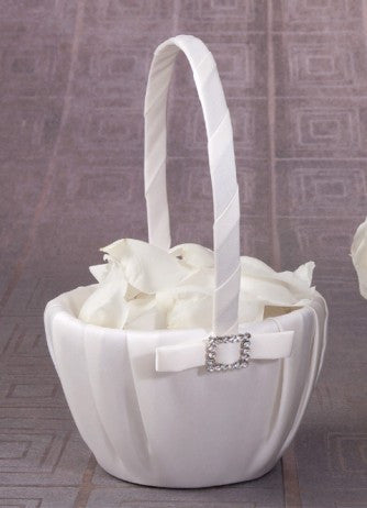 Glamour Flower Girl Basket