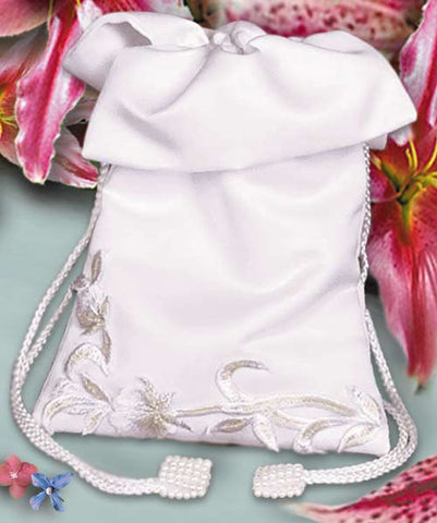 Lily Bridal Purse - White or Ivory