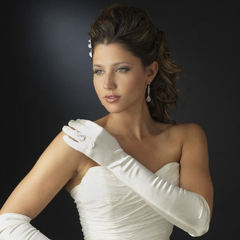 Ring Finger Bridal Glove
