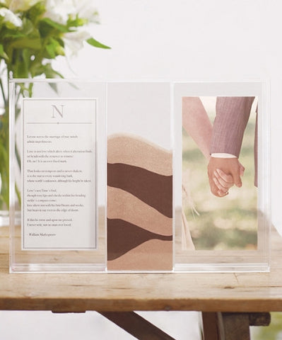 Clearly Love Unity Sand Ceremony Shadow Box