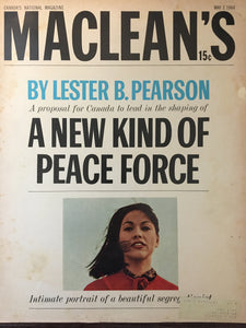 Parker Jotter, MacLean's May 2, 1964