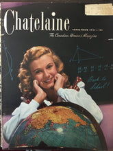 Load image into Gallery viewer, Parker Quink, Chatelaine September 1945