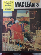 Load image into Gallery viewer, Parker 51, new Electro=-Polished, MacLean's October 15, 1954
