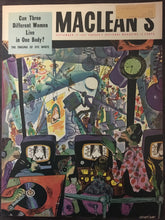 Load image into Gallery viewer, Parker 51, new Electro-Polished, MacLean's Magazine, September 15,1954