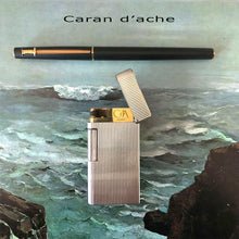 Load image into Gallery viewer, Caran d'ache lighter & Rollerball