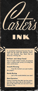 Ink Bottle, Carter's Midnight blue