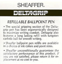 Load image into Gallery viewer, Sheaffer Delta Grip, Ballpoint