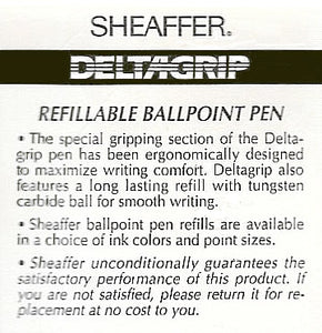 Sheaffer Delta Grip, Ballpoint