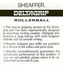 Load image into Gallery viewer, Sheaffer Delta Grip, Rollerball