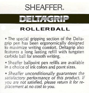 Sheaffer Delta Grip, Rollerball