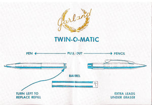 Garland Chrome Twin-0 -Matic,  Double ended