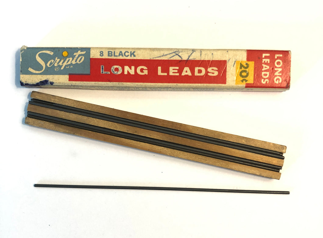 Vintage Lead, Scripto, 1.1mm Black HB