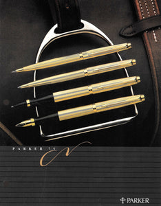 "Parker 75, Gold ""Milleraies"""