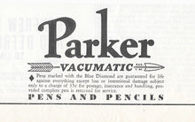 Load image into Gallery viewer, Parker Vacumatic, Black Streamlined