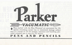 Parker Vacumatic, Black Streamlined