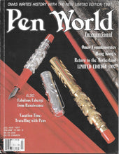 Load image into Gallery viewer, Pen World, Back Issues. July/August. 1997 Vol.10. No.6