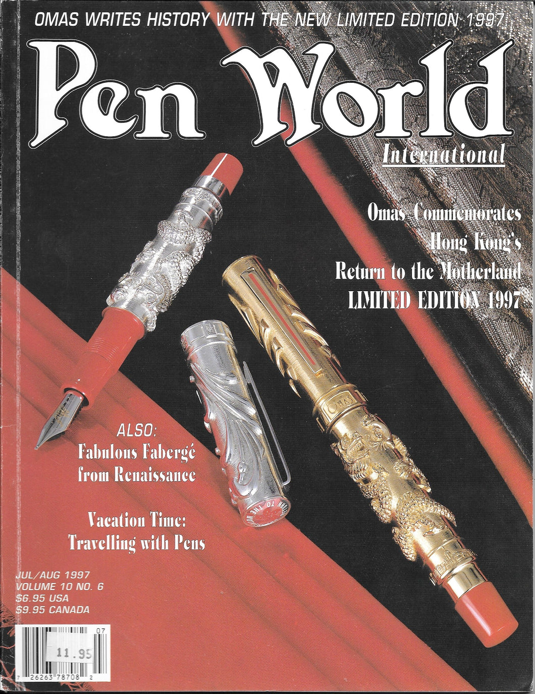 Pen World, Back Issues. July/August. 1997 Vol.10. No.6