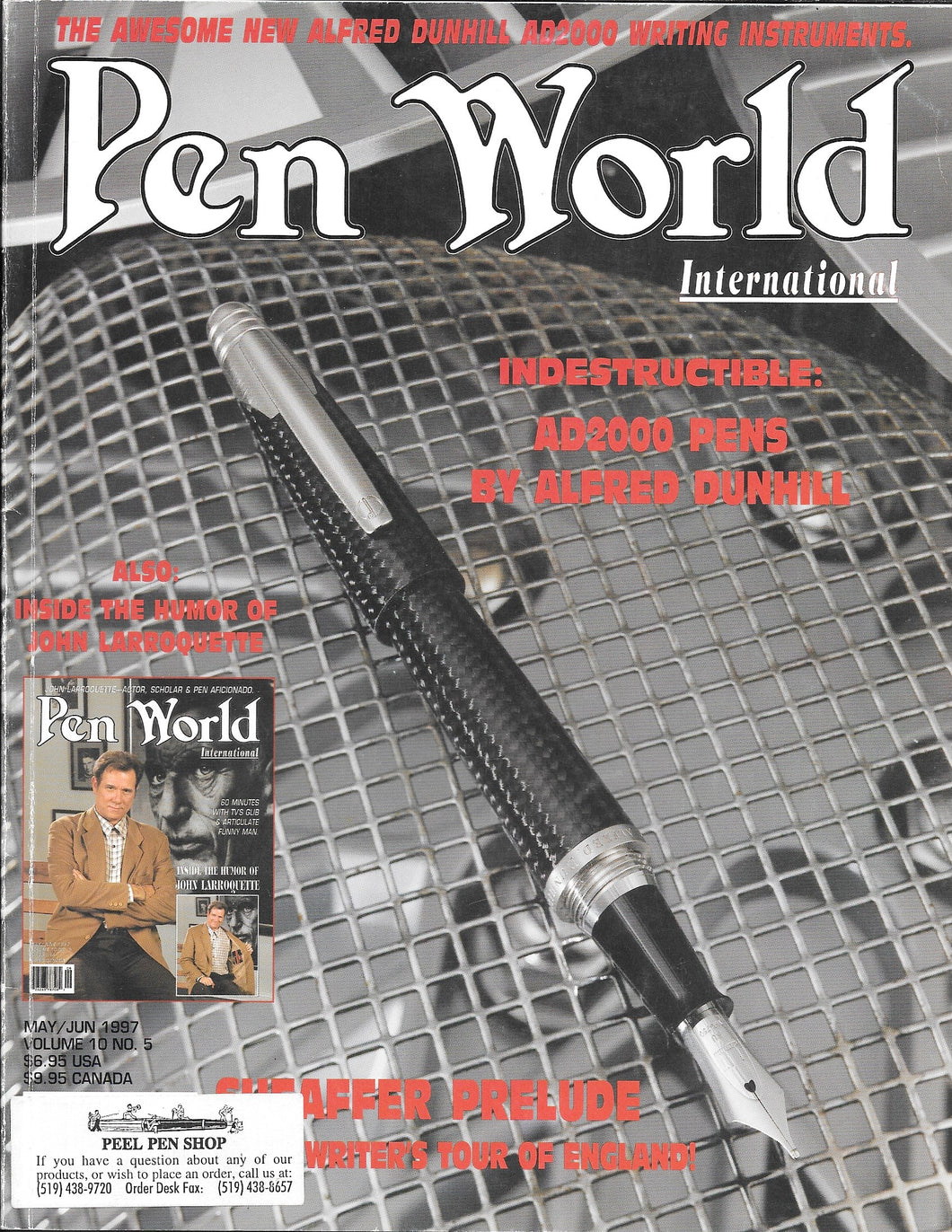 Pen World, Back Issues. May/June. 1997 Vol.10. No.5