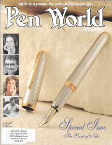 Pen World, Back Issues. July/Aug 1998 Vol.11. No.6