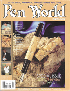 Pen World, Back Issues. May/June 1998 Vol.11. No.5