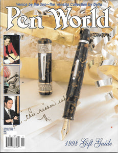 Pen World, Back Issues. Nov./Dec. 1998 Vol.12. No.2
