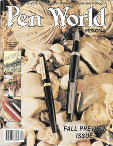 Pen World, Back Issues. Sept./Oct. 2000 Vol.14. No.1