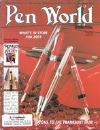 Pen World, Back Issues. Jan./Feb. 2001 Vol.14. No.3