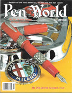 Pen World, Back Issues. Jul./Aug. 2001 Vol.14. No.6