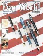 Pen World, Back Issues. May. /June 2001 Vol.14. No.5