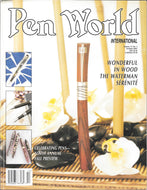 Pen World, Back Issues. October. 2001 Vol.15. No.2